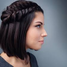 swanky braided hairstyles to do on short hair