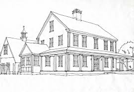 farmhouse plans colonial homesclassic colonial homes