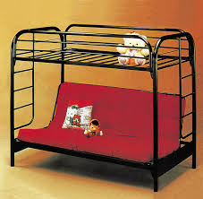 Black Metal Futon Bunk Bed Twin Over Futon Bunk Bed Metal Roselawnlutheran