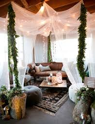 Bohemian Chic Decorating Ideas Tassels U0026 Tastemakers Party Outdoor Decor Living Spaces And