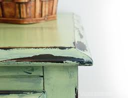 Painting Wood Furniture by How To Distress Furniture With Vaseline What Took Me So Long