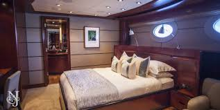 Yacht Bedroom by Usher Yacht Charter Delta Superyacht Charter