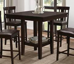 homelegance diego counter height dining set espresso d5460 36