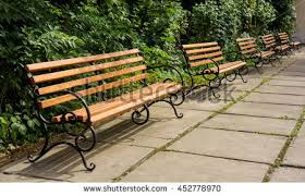 Wood Bench With Metal Legs Metal Bench Stock Images Royalty Free Images U0026 Vectors Shutterstock