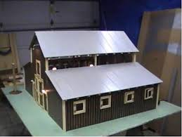 model horse barn woodworking blog videos plans how to