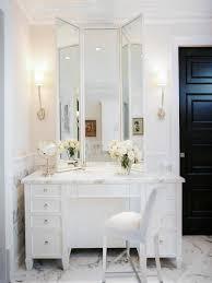 makeup vanity makeup vanity in white best mirrored table sets