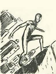 the new ultimate spider man sketch by cagscreations on deviantart