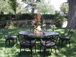 Patio 7 Piece Dining Set - cbm outdoor cast aluminum 7 piece patio dining set c with cushions