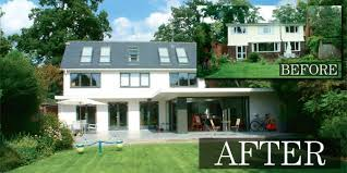 Exterior Remodeling Before And After This Remodelling Scheme Was - Home designers uk