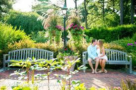 Virginia Botanical Gardens Norfolk Botanical Garden Engagement Photography