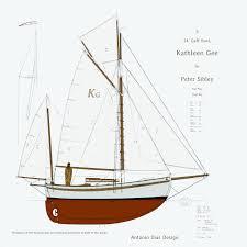 kathleen gee final sail plans u2013 antonio dias design