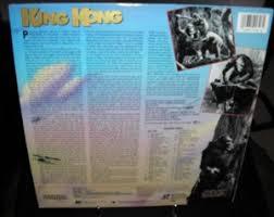 thunder child king kong laser disc