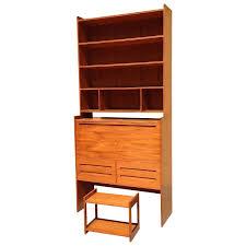 danish modern secretary desk 56 bookcase secretary desk stellar quality brge mogensen teak