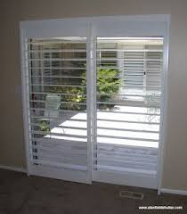 Plantation Shutters On Sliding Patio Doors by 7 Best Clearview Shutters Images On Pinterest Plantation Shutter
