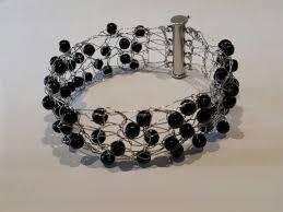 beaded wire bracelet images Crochet wire beaded cuff bracelet jacob 39 s closet jpg
