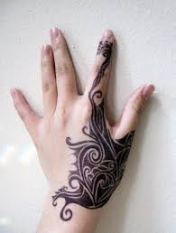 Finger Tribal - 50 exles of finger tattoos golfian com