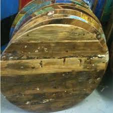 Reclaimed Boat Wood Furniture Reclaimed Boat Wood Table Top Available In Square Round And