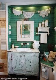 Repurposed Bathroom Vanity by Repurposed Cabinet Bathroom Vanity Via Knickoftime Net