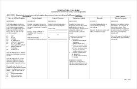 wound care plan template sle nursing care plan resumess franklinfire co