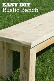 Outdoor Wood Bench Diy by Here Are A Couple Of Diy Benches That Would Provide Casual And