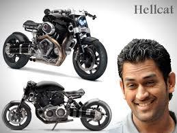 hellcat x132 dhoni mahendra singh dhoni s latest love hellcat x132 superbike