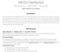 Best Sites To Upload Resume by The Free Resume Design Tool You Need The Muse