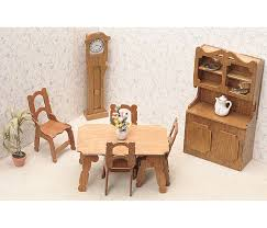 Dollhouse Kitchen Furniture Amazon Com Greenleaf Dollhouse Furniture Kit For Kitchen Arts