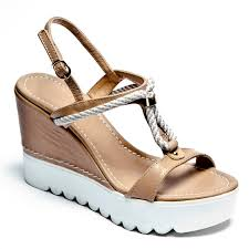 nautical wedge sandals ladies tan wedge sandals espadrille co uk