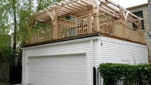 flat roof garage 2 story garage pinterest flat roof decking