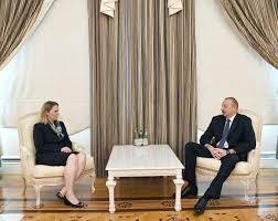 bureau president president ilham aliyev received us deputy assistant of