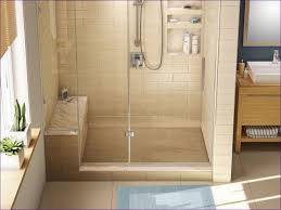 Corner Shower Stalls For Small Bathrooms by Bathroom One Piece Shower Stall Large Corner Shower Units Small
