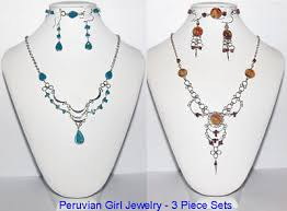 earring necklace bracelet sets images 10 matching glass sets bracelets earrings necklaces peru trandy jpg