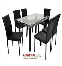 glass dining table for sale tempered glass dining table with 6 chairs model l002 b39 for sale