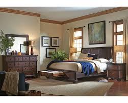 aspen home bedroom furniture aspenhome bedroom set w storage bed bancroft asi08 422sset