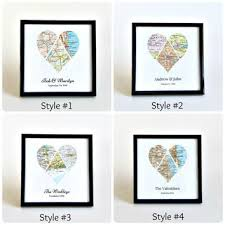 wedding gift map wedding map personalized wedding from salvaged studio