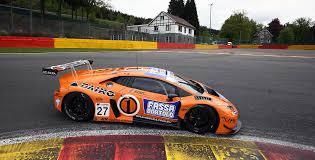 lamborghini race car gt3 program and results lamborghini squadra corse