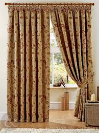 Brown Gold Curtains Interlined Curtains Curtains Uk