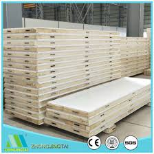 clean polyurethane china polyurethane sandwich panel pu insulated wall panel for
