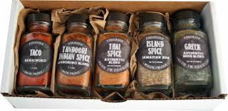 food gift sets freshjax world flavor spices gift set set of 5 local goods market