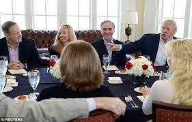 Cabinet Officers Trump Lunches With Cabinet During Weekend In Washington Daily