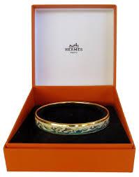 bangle bracelet box images Herm s blue gold ivory grey enamel dolphin bangle box bracelet jpg