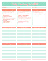 free printable party planning checklist it u0027s the little things
