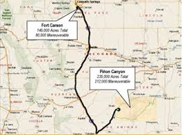 fort carson map pcms overview