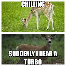 Turbo Car Memes - the sound of a turbo