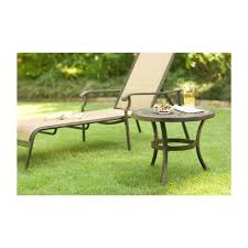 Outdoor Metal Side Table Martha Stewart Living Metal Patio Furniture Patio Furniture