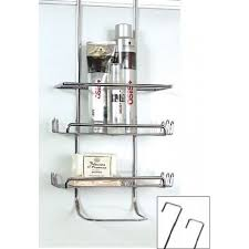 Door Shower Caddy Shower Caddy Chrome Wall Or Door From Storage Box