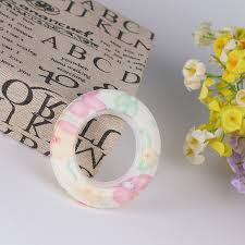 wholesale 5 sets plastic curtain rings eyelets round shape curtain