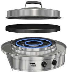 Two Burner Gas Cooktop Propane Evo Affinity 30g Drop In Gas Cooktop Lp 10 0055 Lp