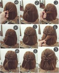 how to braid short hair step by step easy short hairstyles gallery 2017