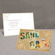 save the date post cards souvenir tropical save the date postcard invitations by